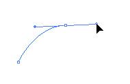 曲線クリックしながらドラッグ