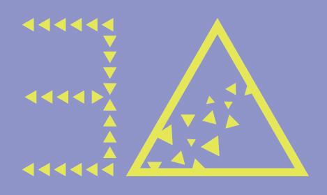 正三角形着色完成