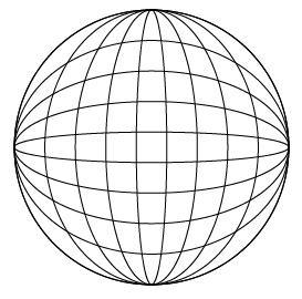 球体ワイヤーフレーム完成