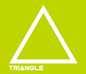正三角形黄緑
