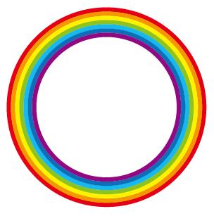 虹の円完成