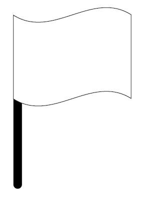 旗_棒つき