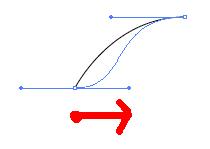 アンカーポイントと方向線4