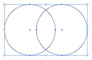 正円2個横並び選択