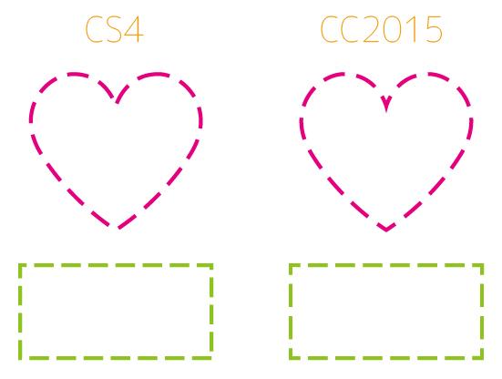 CC2015破線の違い