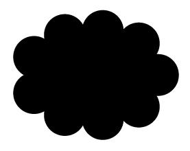 黒いもくもく